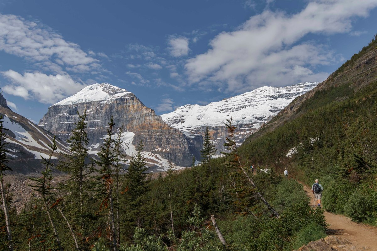 2019-06-22 Plains of Six Glaciers Hike 07