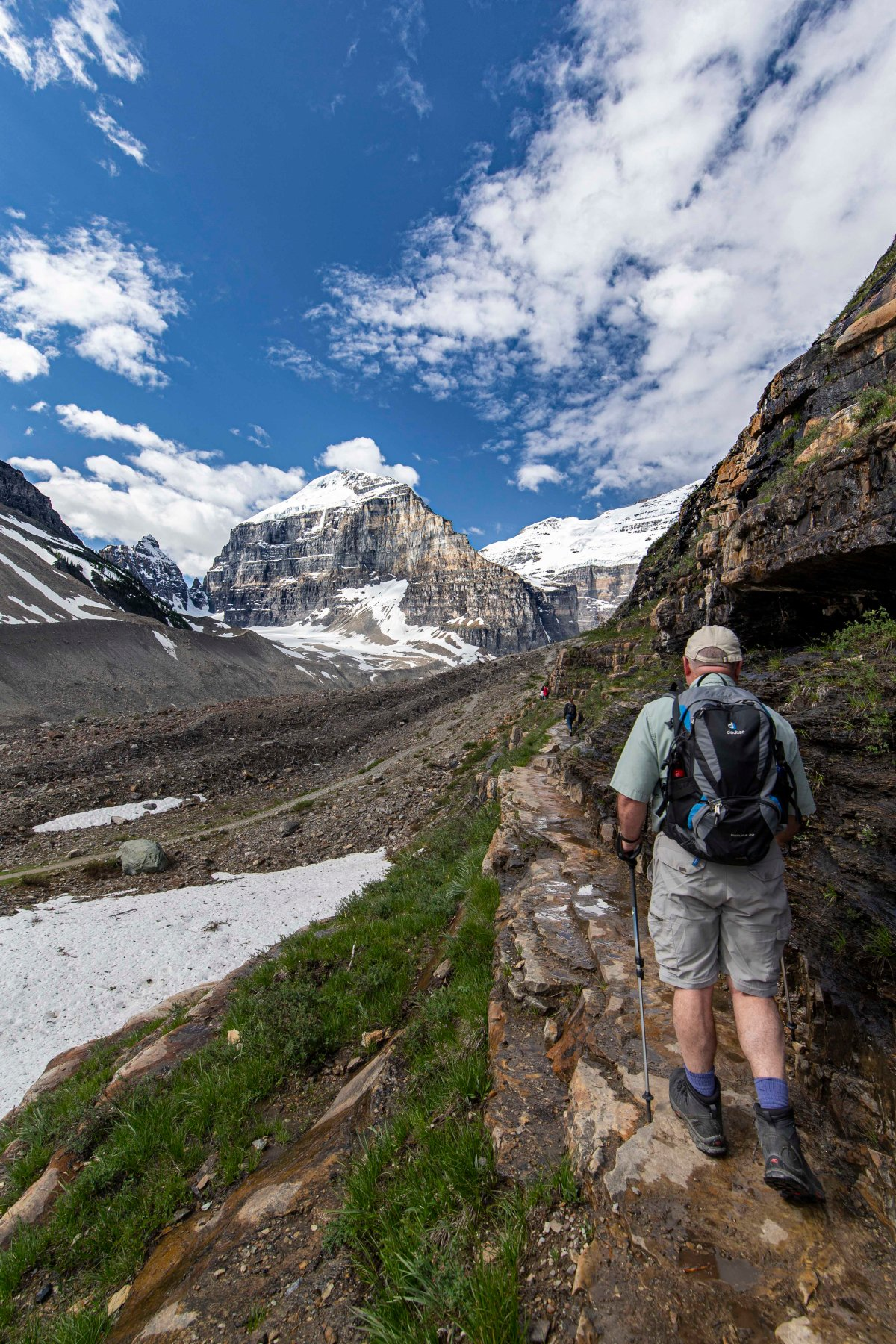 2019-06-22 Plains of Six Glaciers Hike 08