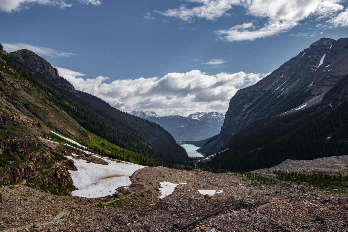 2019-06-22 Plains of Six Glaciers Hike 09