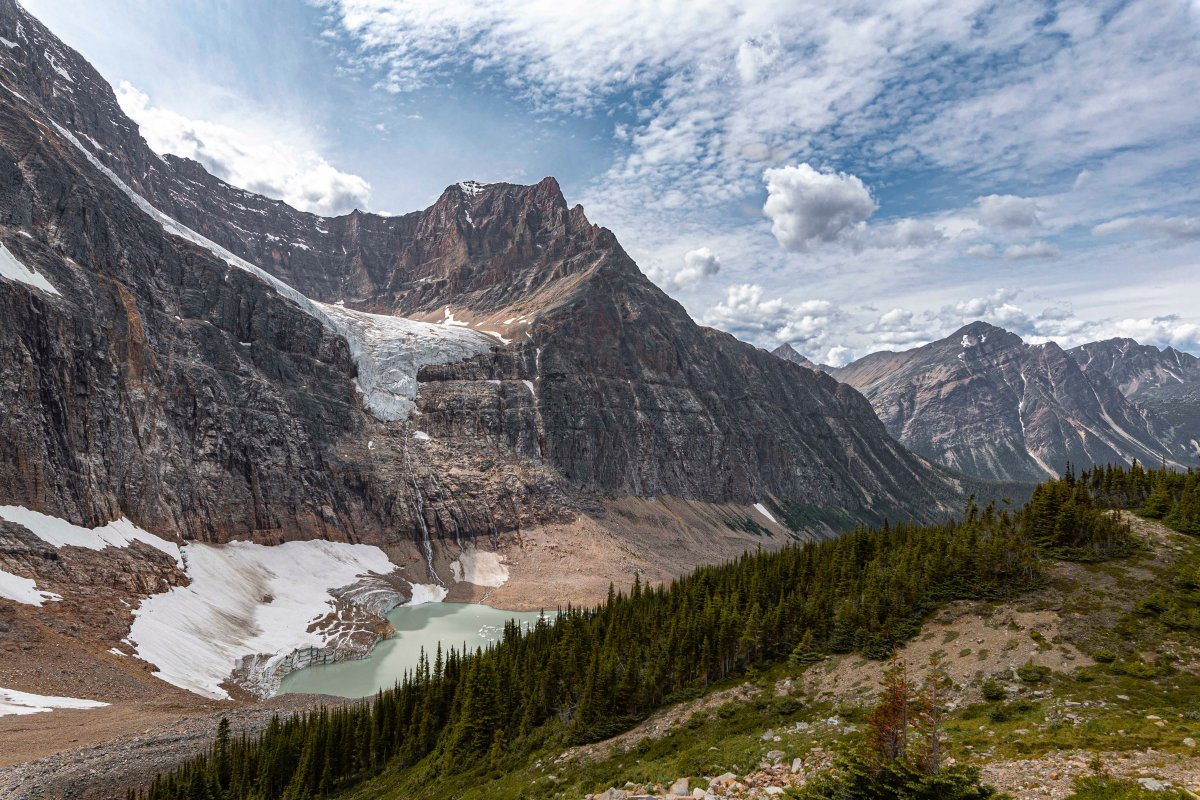 2019-07-29 Parker Ridge & Edith Cavell Hikes 19